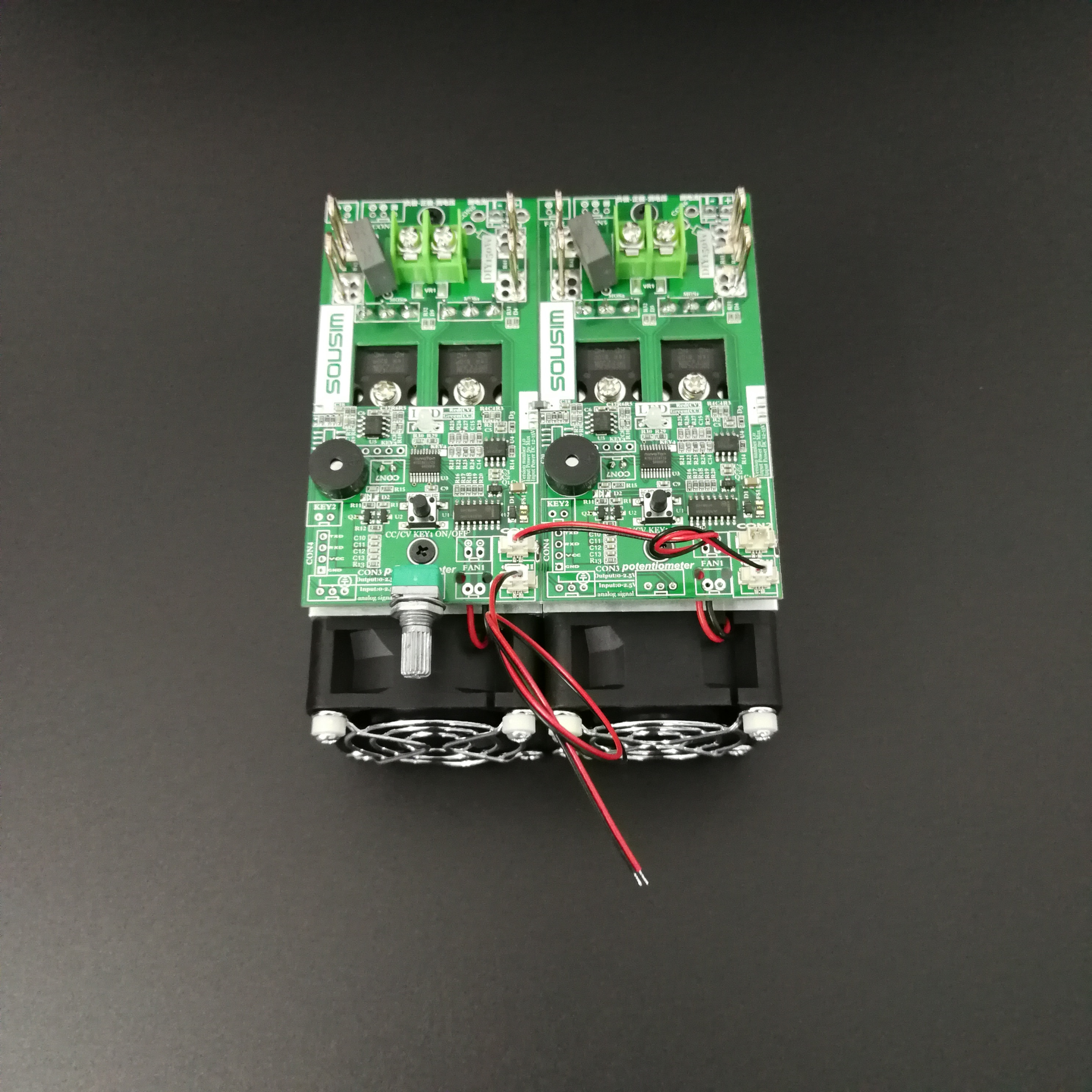 Carga electrónica resistencia de envejecimiento carga de voltaje constante carga de corriente constante carga ajustable Patriot Diy300w