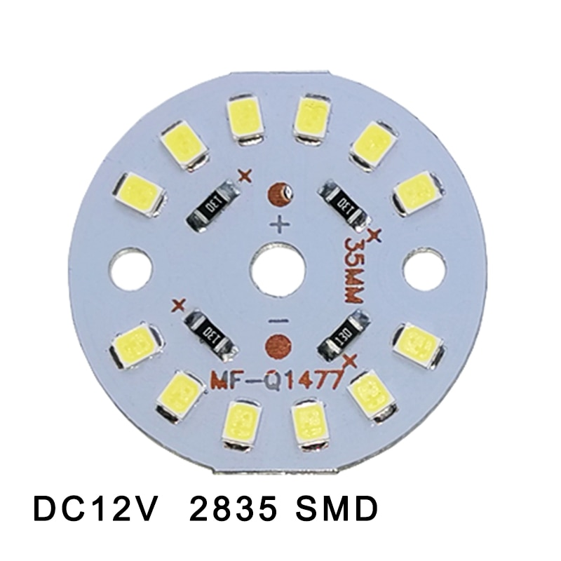 [mingben] 5pcs led cob chip 18w 15w 12w 9w 7w 5w 3w ac 220v smart ic light high lumen chip for bulb diy led spotlight light bead 5pcs a lot DC12V 3W 6W 9W 12W 15W 18W LED lamp Bead High Power LED SMD2835 Chip Light Bulb Light Lamp Spotlight Down light Lamp