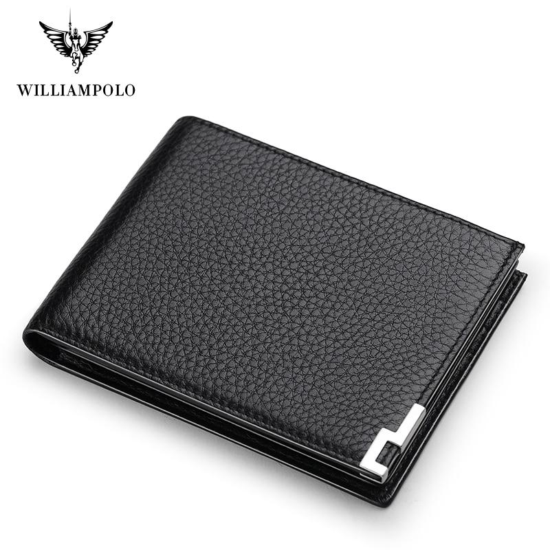 Мужской кожаный кошелек simappolo Geunine, маленький тонкий мини-кошелек для денег PL175115