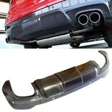 Difusor trasero de fibra de carbono estilo 3-D compatible con BMW F26 X4 M-Sport