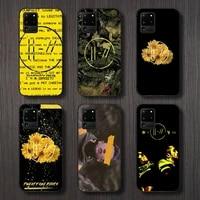 twenty one pilots phone case for samsung a32 a51 a52 a71 a50 a12 a21s s10 s20 s21 plus fe ultra