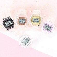 New Stylish Women's Watches Girls Watchband Analog Electronic LED Digital Clock Lady WristWatch relo