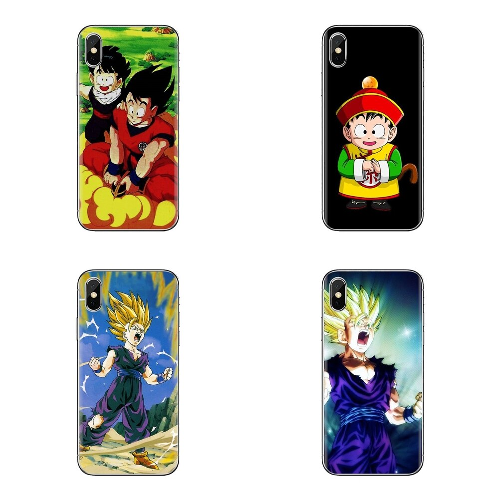 Dragon Ball Z Son Goku Gohan Arte Para Huawei G7 G8 P7 P8 P9 P10 P20 P30 Lite Mini Pro P Smart Plus 2017 2018 2019 Caso Ultra Fino