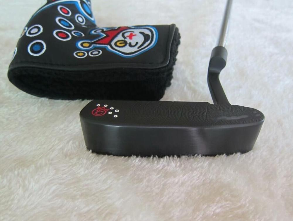 "Nuevo Putter de Golf negro 009-M 33 34 35 ""palos de Golf putters con agarre de eje de cubierta de cabeza"