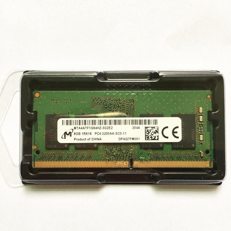 Micron ddr4 3200 8gb rams 8GB 1RX16 PC4-3200AA-SCO-11 DDR4 8GB 3200MHz Laptop memory