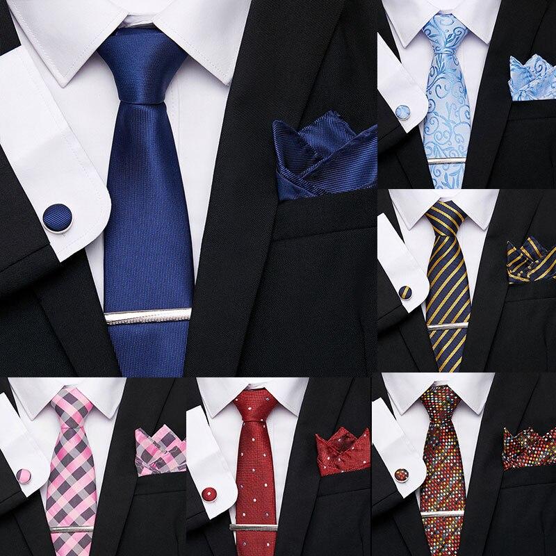 Men's 7.5 cm Necktie Polyester Jacquard 100%Silk Men Tie Flomal Dress Accessories Wedding Party Mens Classic Ties недорого