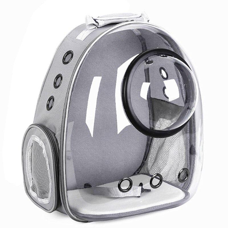 Cápsula espacial astronauta, bolsa de transporte, transportador de animais, bolha, ombro, respirável, para bicicleta, gato