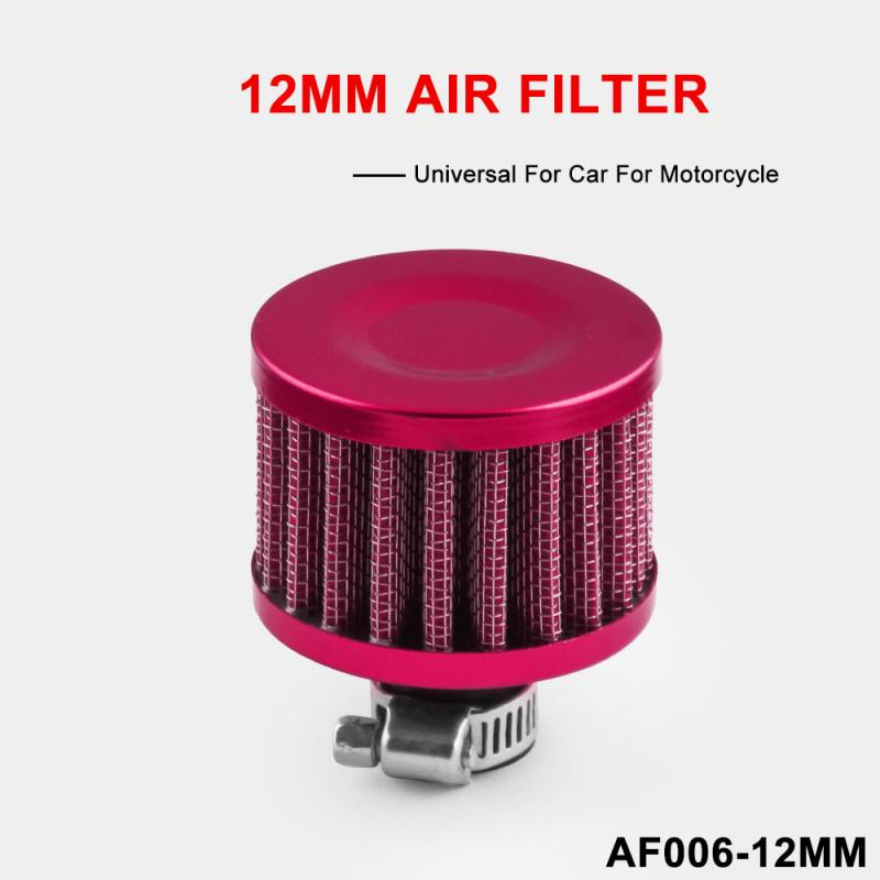 Filtro de ventilación Turbo TSLM2 para cárter de estator de entrada de aire frío de aceite de filtros de motocicleta de coche interfaz Universal Filtro de aire para motocicleta