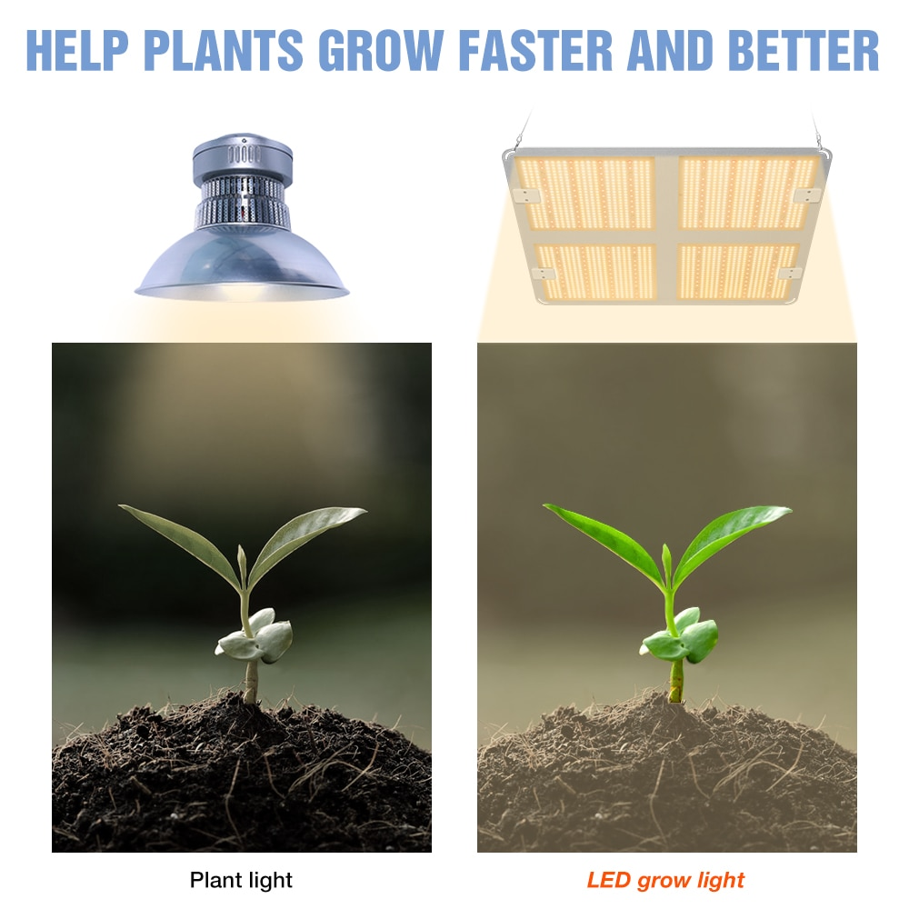 LED Full Spectrum Plant Grow Light 1000W LED Phyto Lamp 2000W Grow Bulb 4000W Planting Hydroponic Lamp IP65 Waterproof Fitolamp enlarge