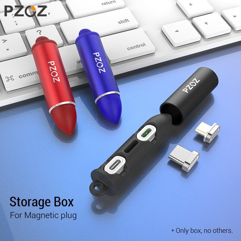 PZOZ Магнитный Кабель с разъемом типа C Micro USB C 8-контактный адаптер для быстрой зарядки телефона Microusb Type-C Магнитный зарядный шнур
