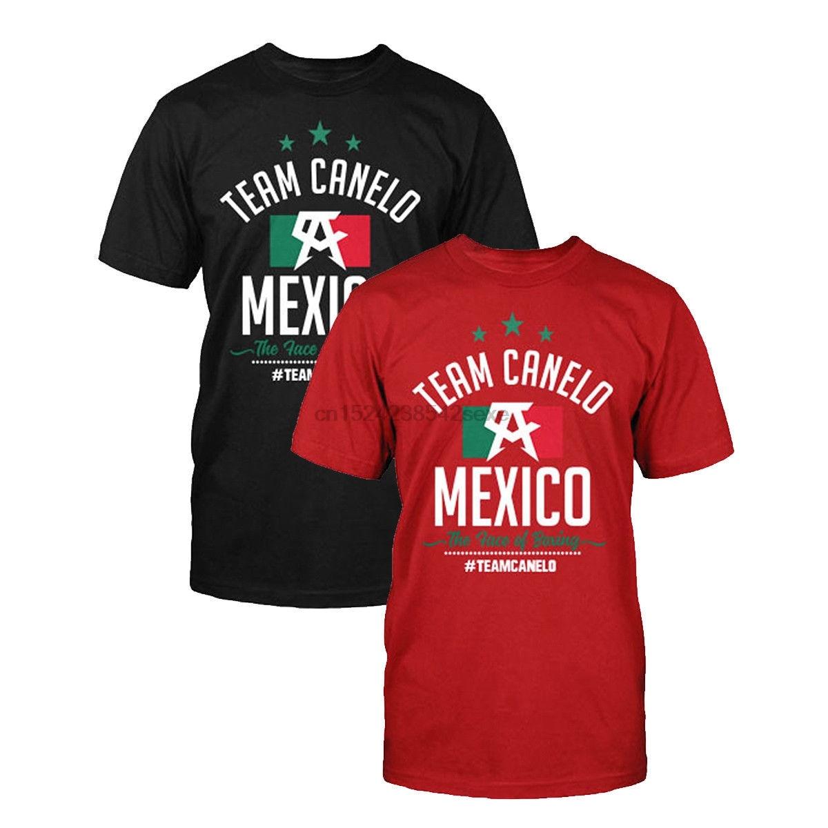 Camiseta con licencia oficial del equipo Canelo Alves, camisa con la bandera...