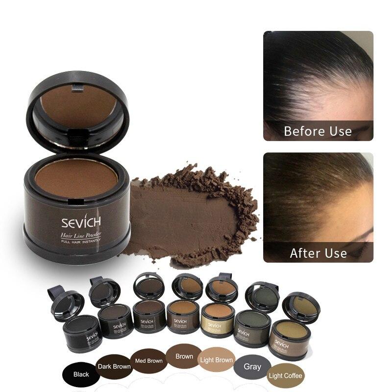 Hair Shadow Powder Hair line Modified Repair Hair Shadow Trimming Powder Makeup Hair Concealer Natur