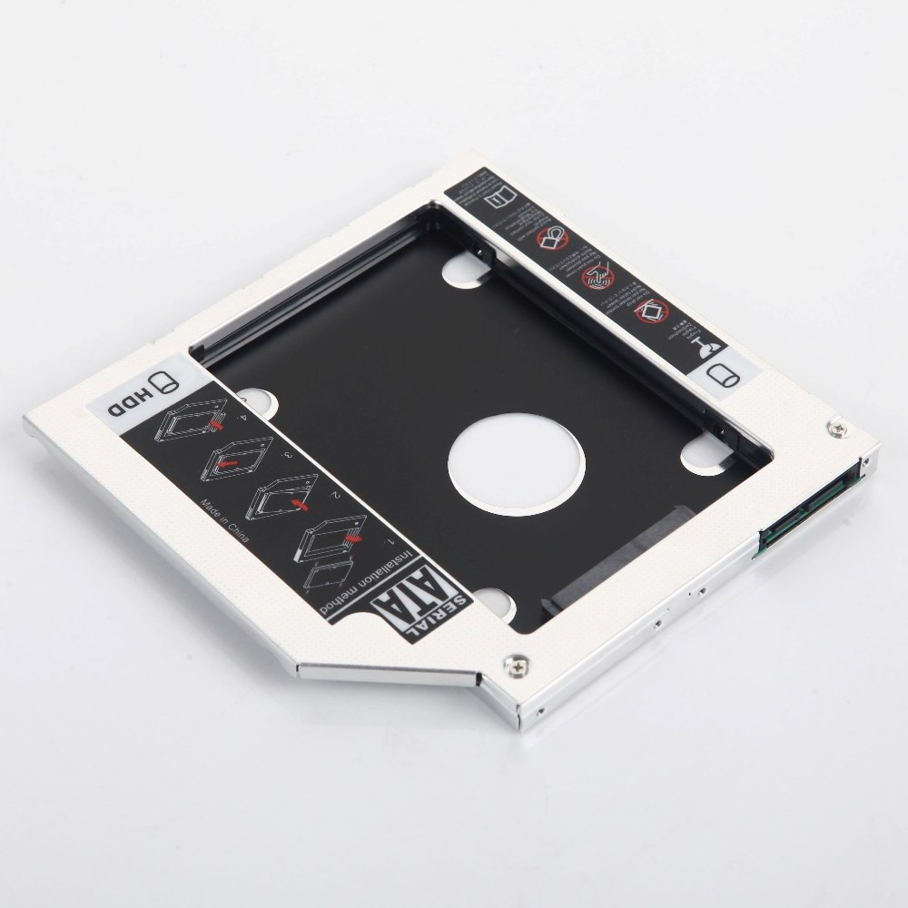 2nd жесткий диск SSD жесткий диск картридж для оптического диска bay адаптер для ноутбука Dell Precision M4600 M6400 M6500 M6600 3300 1340 M4700 M6700 M2800 DV-18SA