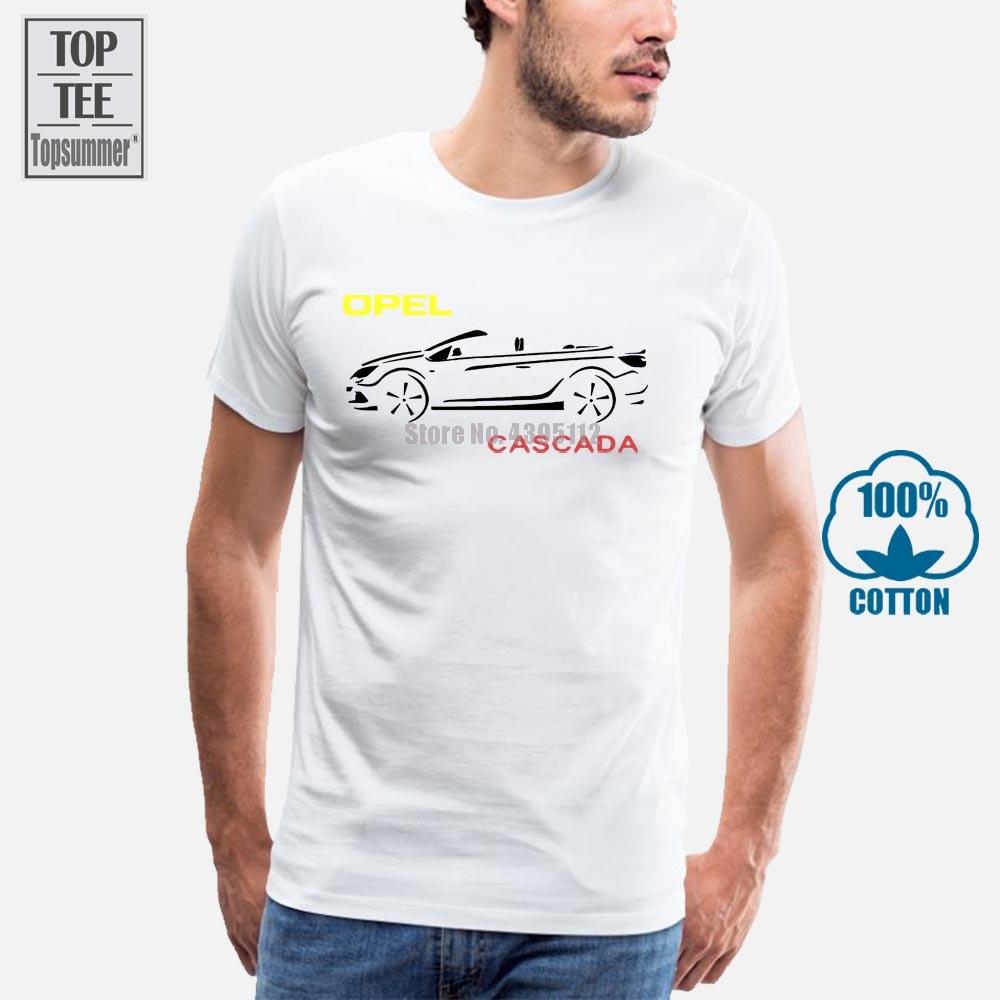 Camiseta Opel Cascada 3D para hombre, camisetas divertidas para motocicleta, camisetas de algodón para hombre, camisetas de gran tamaño, camisetas gráficas para hombre