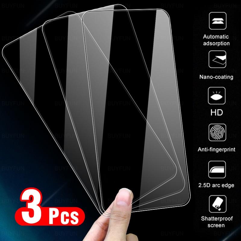 3Pcs For OPPO Reno 4Z 5G glas Tempered Glasses For OPPO Reno4Z Reno4 Z Glass Full Cover Screen Protectors Film CPH2065 6.57