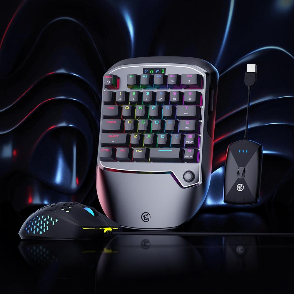 GameSir VX2 ايمسويتش لوحة المفاتيح الماوس و مجموعة محول ل Xbox سلسلة X/S ، Xbox One ، PS4 ، نينتندو سويتش ل نداء الواجب PUBG