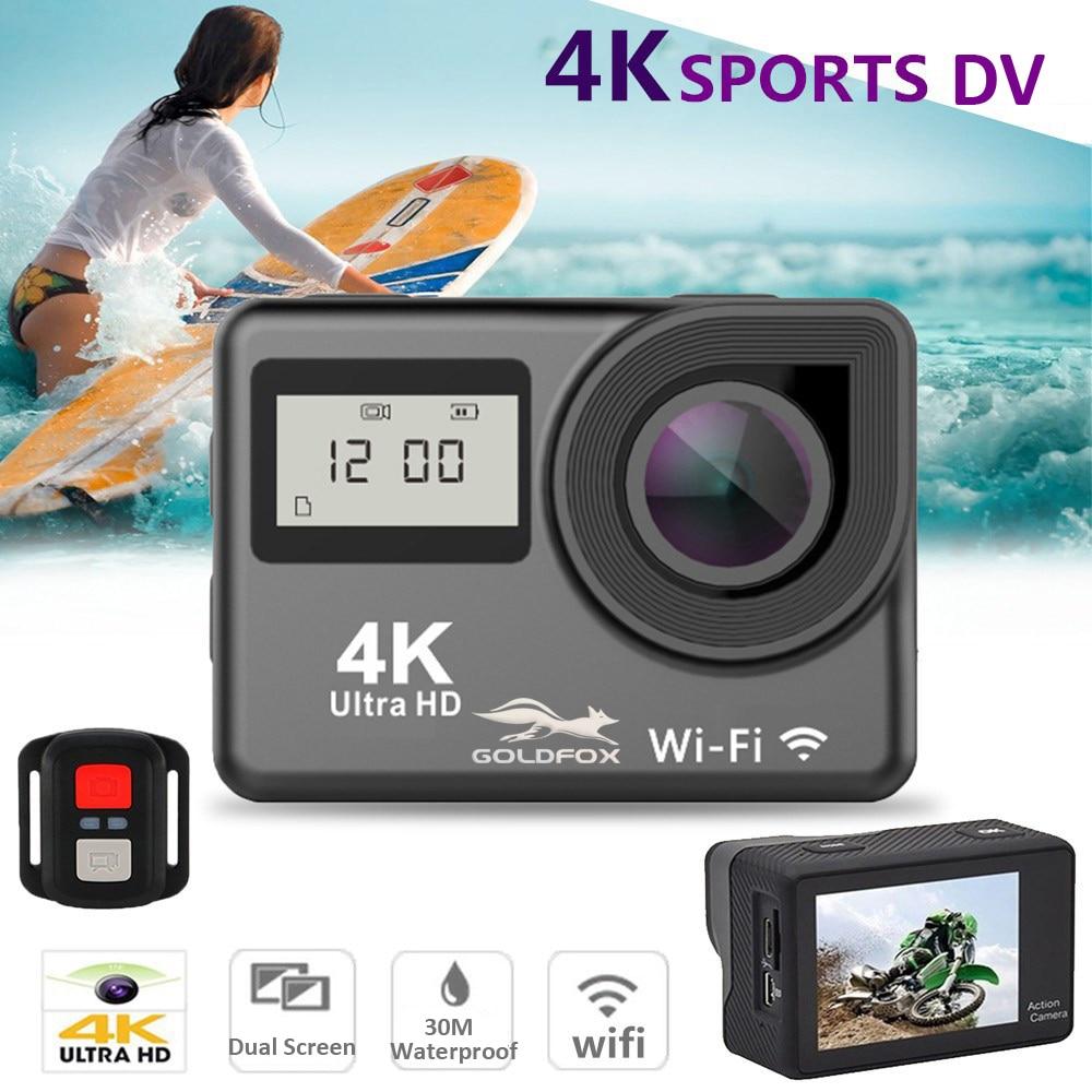 4K WiFi caméra daction 2.0