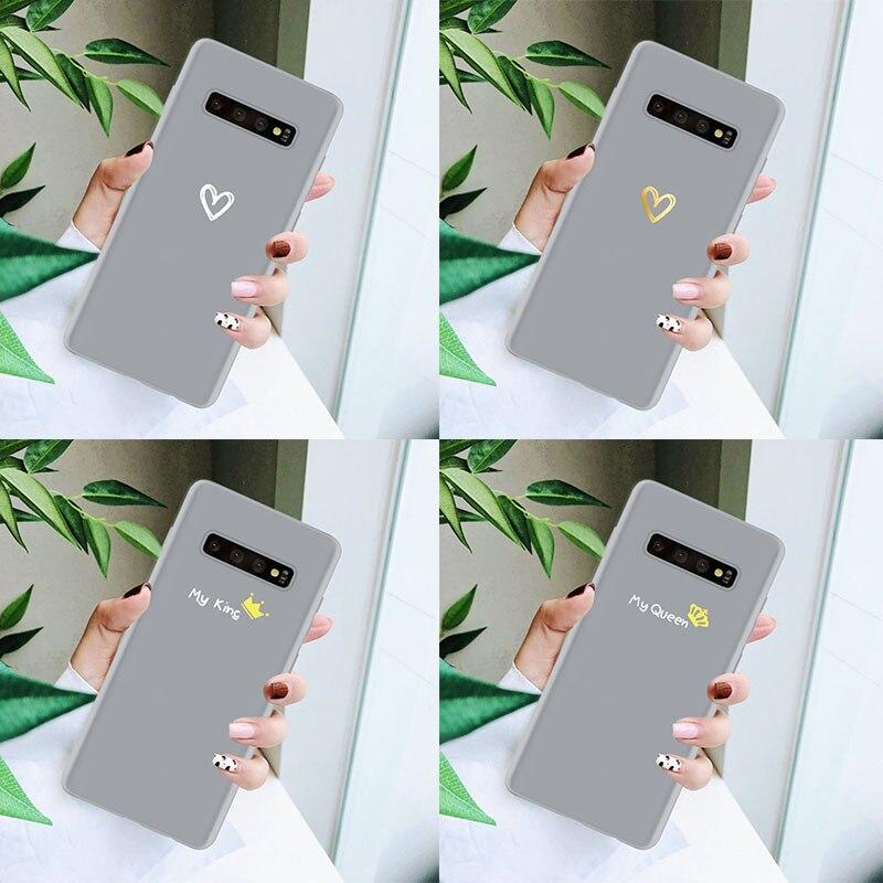 Bonita funda de silicona para Samsung Galaxy, funda para J5 J7 S9 S8 S10 Lite S7 S6 S11 E S10e J6 Prime Plus J4 J3 Edge 2018 2017 2016