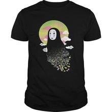 Men tshirt no face and soot sprites (3) 쿨 프린트 티셔츠 탑