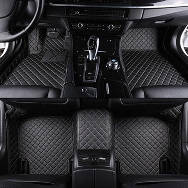 Custom car floor mats for all 5-seat models for toyota bmw Mercedes audi kia for all models Car accessories