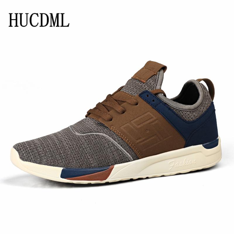 HUCDML léger et doux confortable chaussures de sport pour hommes été respirant maille baskets livraison directe du fournisseur