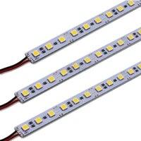 12v led bar light 36leds50cm smd 5050 led hard rigid pixels strip alluminium alloy coat lightbar 10pcslot