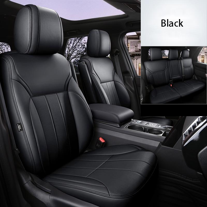 Cubiertas de asiento de coche para Audi a3 8p q5 a6 c6...