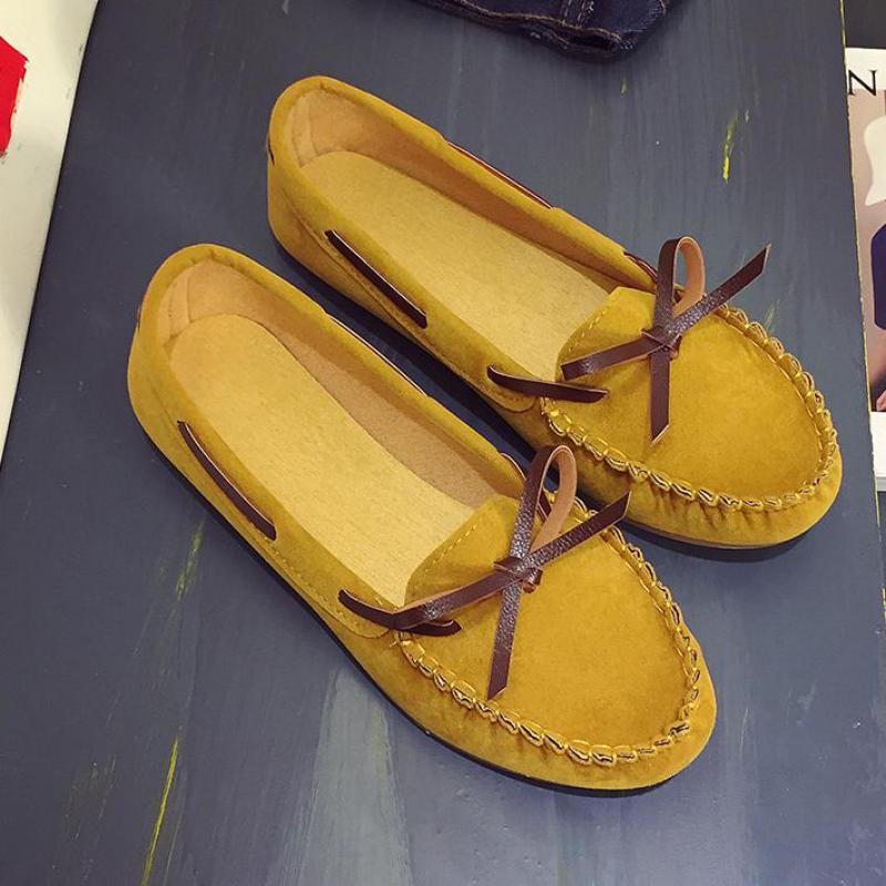 Deslizamento em Mocassins Sapatos de Pano Mulher Sapatos Planos Arco Senhora Mocassins Feminino Ballet Rasa Único Calçados Casuais Alpercatas