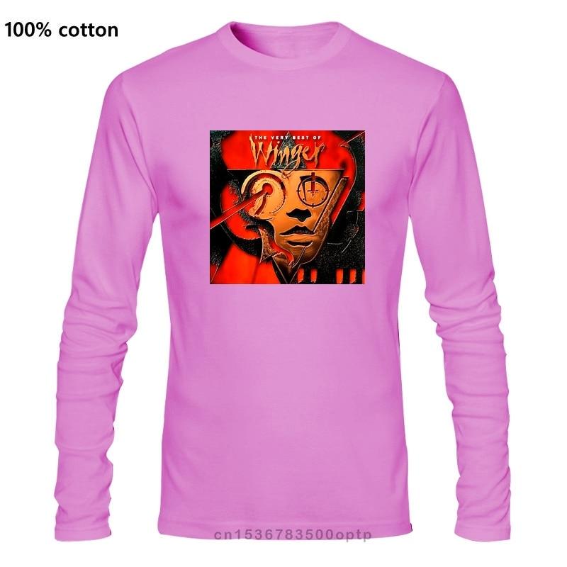 Novo winger glam rock band 80s sahara álbum capa masculina preto camiseta tamanho S-3XL