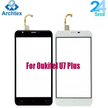 For Oukitel U7 plus Touch Screen Touch Panel Perfect Repair Parts for Oukitel U7 plus Mobile Accesso