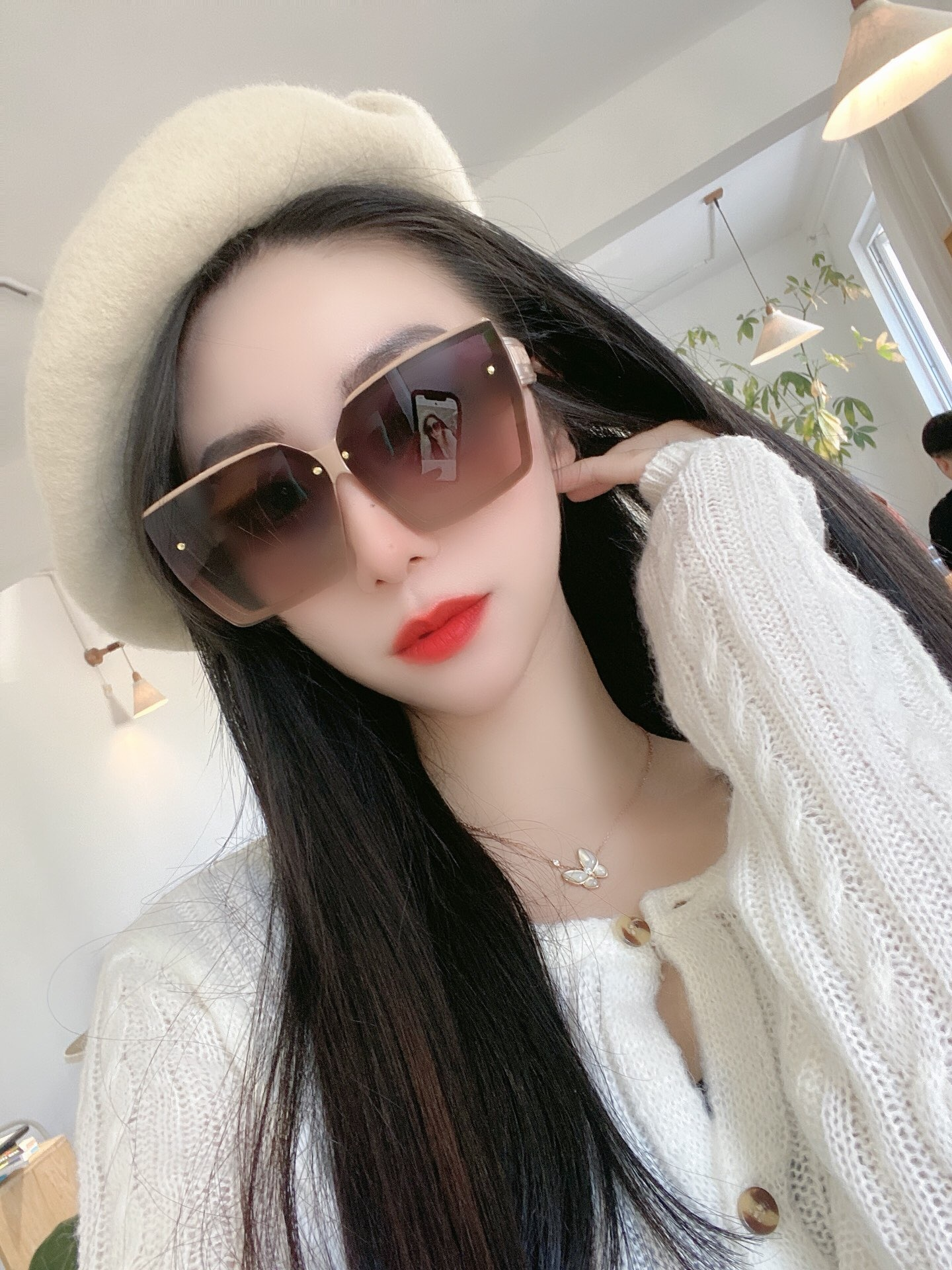 With Box Luxury brand Sunglasses men's and women's glasses sunglasses shading driver presents glasses box package