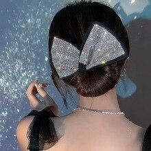 Pinzas para el pelo con diamantes de imitación para mujer, accesorios mágicos con lazo perezoso, plato de alambre para la cabeza, diadema, Clip, estampado de leopardo