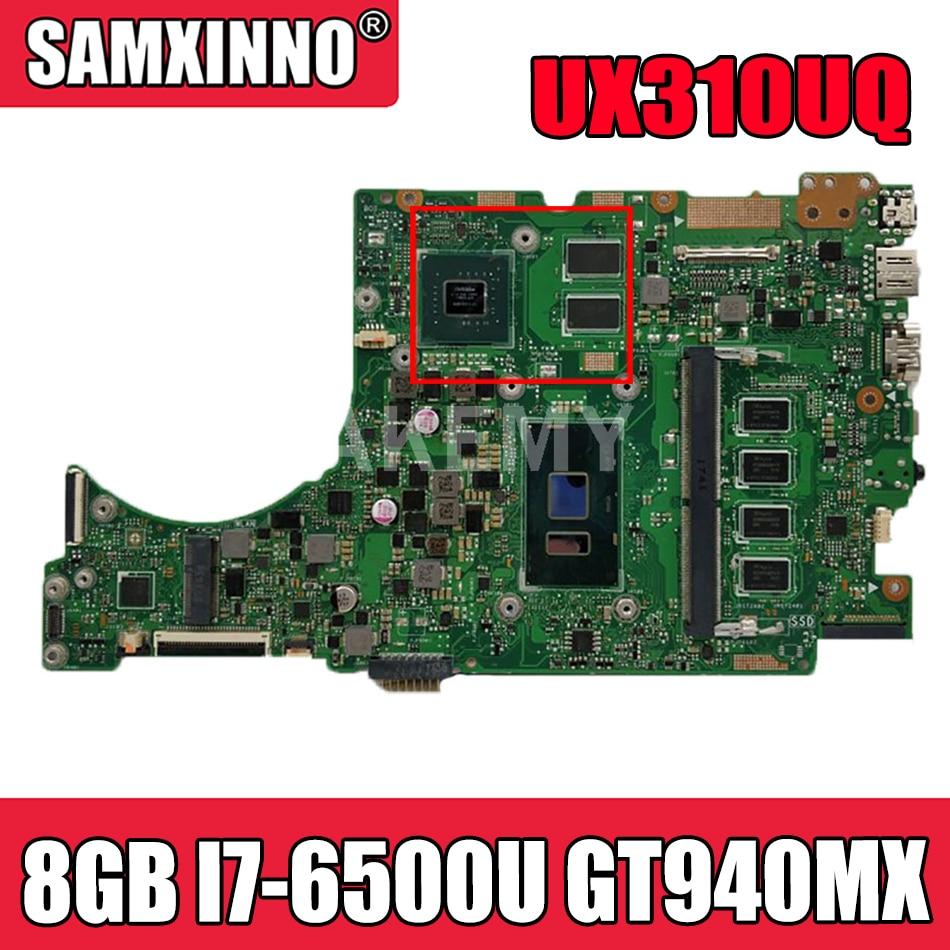 جديد UX310UQ اللوحة لابتوب ASUS UX310UQK UX310UQ UX310UV UX410UV UX410UQ UX410UQK اللوحة 8GB I7-6500U GT940MX-GPU