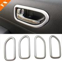 for nissan x trail t31 x trail 2008 2009 2010 2011 2012 2013 abs chrome car inner door bowl decoration strip trim accessories