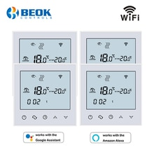 4 pièces/paquet WiFi Thermostat dambiance régulateur de température chaud plancher température Instruments Google Home Alexa fonction