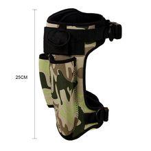 Scuba Tauchen Neopren Messer Wrap Camouflage Mantel Strap Bein Halter 2 Taschen 27RD