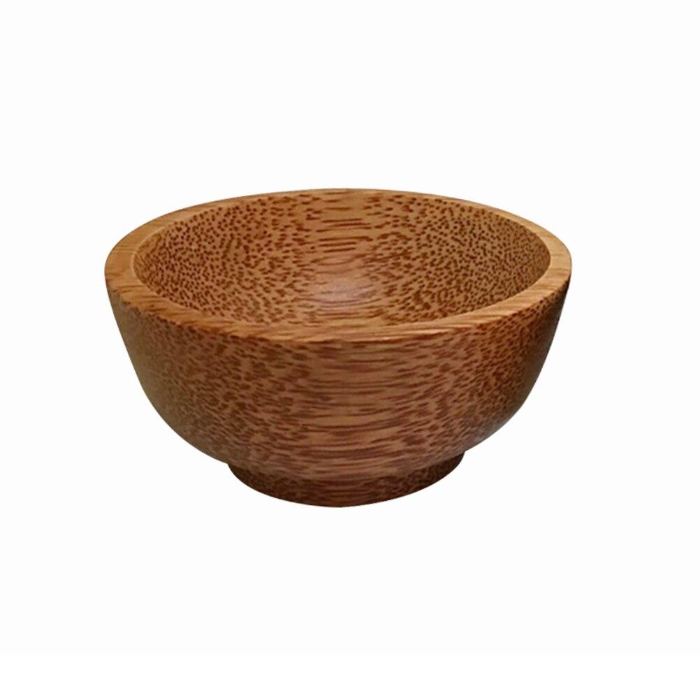 Molho de Soja Talheres de Madeira Pequeno Natural Coco Tigela Tempero Arroz Recipiente Anti Escaldante Bife Molho Mostarda Artesanato