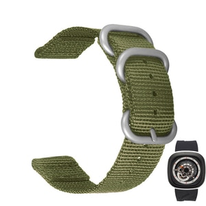 Nylon Watch band for Seven Fridays diesel watch strap 28mm Sports Breathable Wrist strap with tool Black Armygreen Bracelet