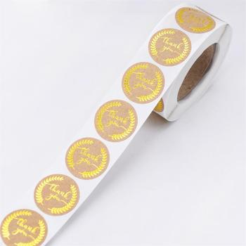 500Pcs Thank You Stickers Seal Labels for Gift Packaging 6