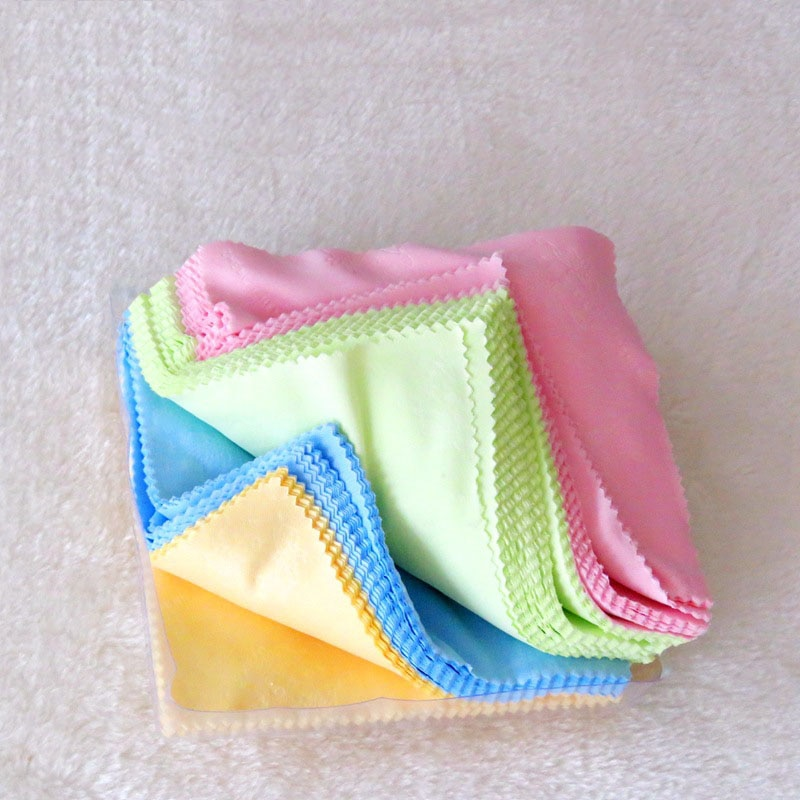 10/20Pcs Cleaner Clean Glasses Lens Cloth Wipes For Sunglasses Microfiber Eyeglass Cleaning Cloth Fo