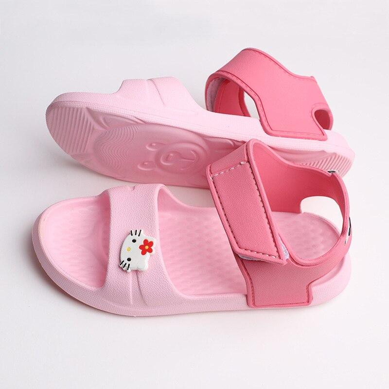 2020 Kids Shoes Summer Baby Sandals For Boys Girls Soft Bottom Children Shoes Beach Casual Walking Litter Kids Sandals Shoes