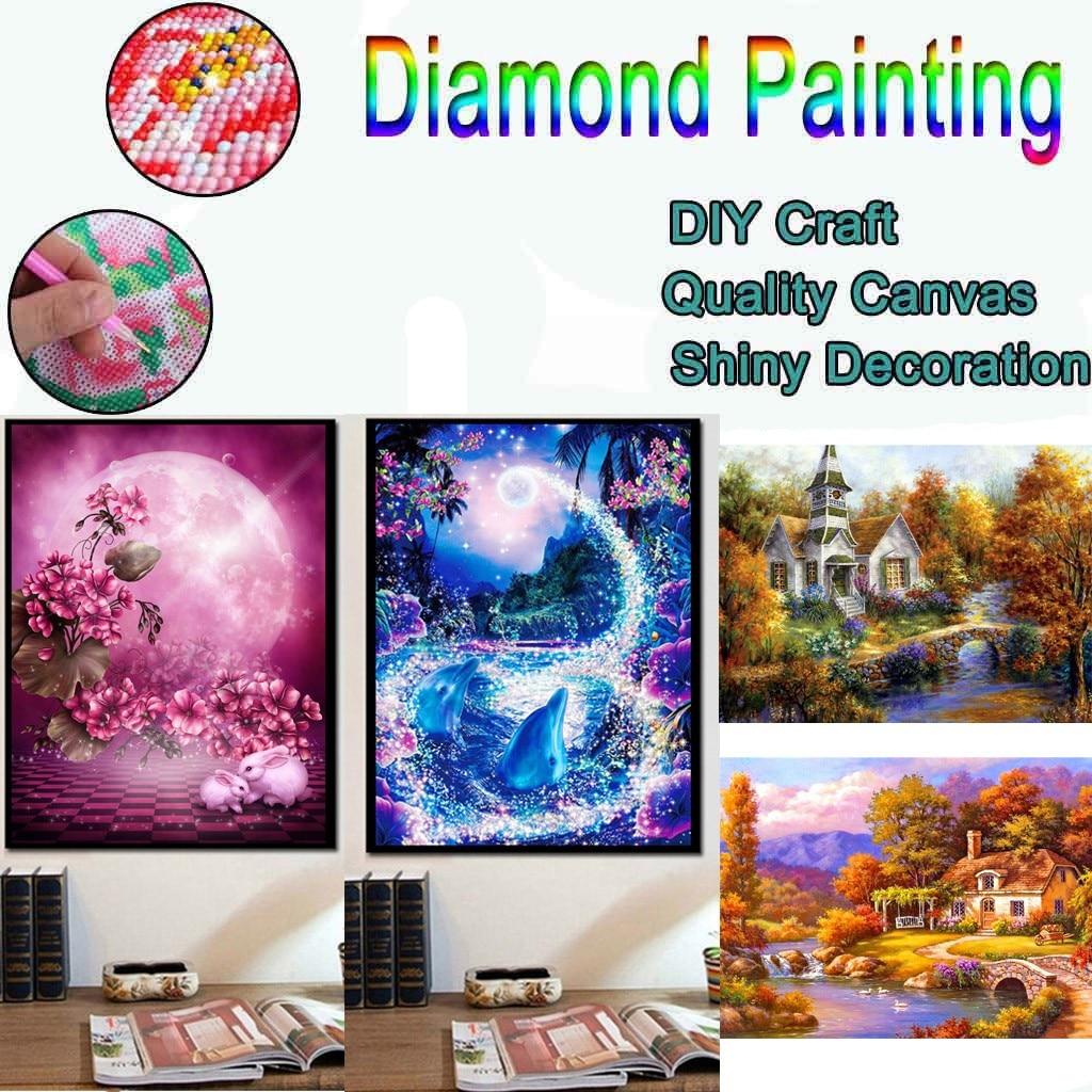 5d Embroidery Paintings Rhinestone Pasted Diy Diamond Painting Cross Stitch Watch Diamond Mosaic Rhinestones Home Decor 2020