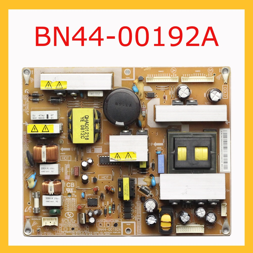 BN44-00192A Power Supply Board For Samsung TV Original Board BN44 00192A Professional TV Accessories