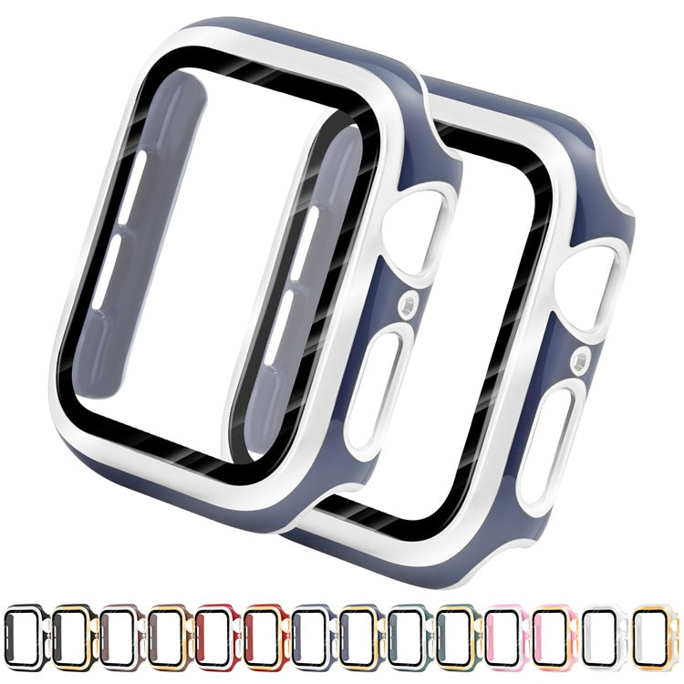 diamond case for apple watch band 40mm 44mm series 4 aluminum alloy frame strap bumper for iwatch 5 4 3 2 1 cover shell 38mm 42mm Fashion PC Protector Case for Apple Watch SE Cover Series 6 5 4 3 2 Shell 44mm 40mm 38mm 42mm Hard Frame for iWatch Bumper