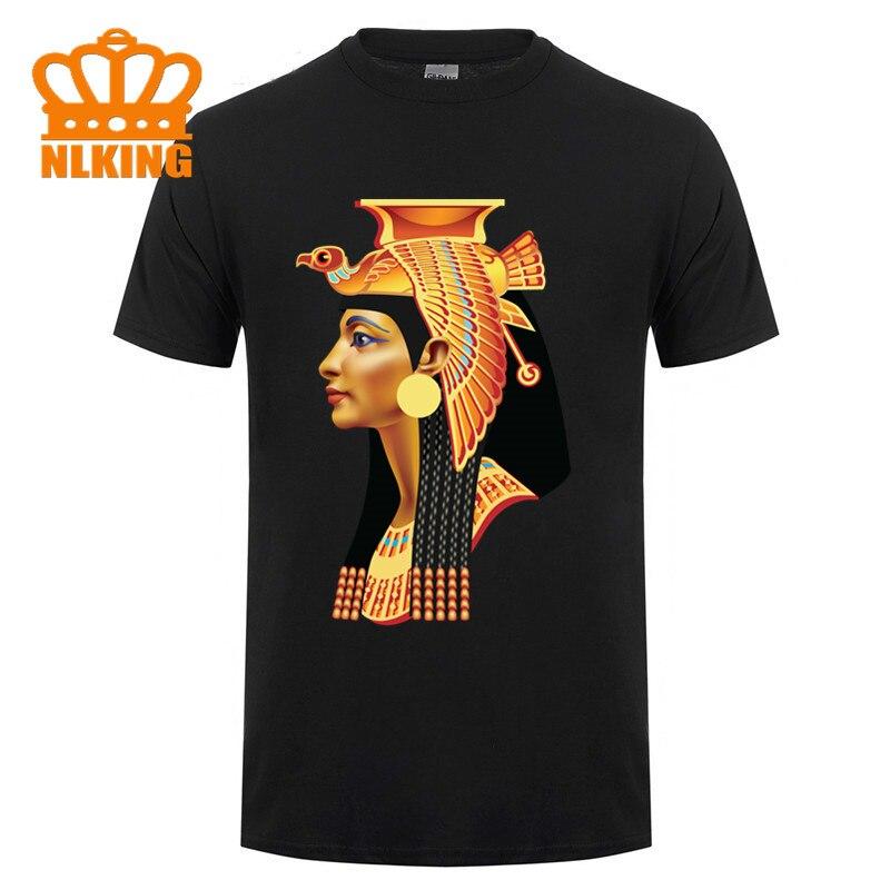 Camiseta exclusiva creativa del Antiguo Egipto cleopat, camiseta del hombre Egipto Sphinx, Camiseta estampada con tótem de mamá misteriosa, camiseta de diseño nuevo