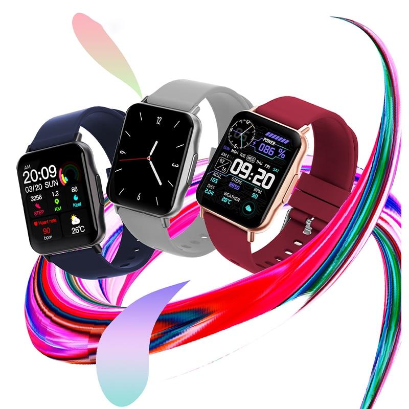 Ip68 Waterproof Smart Watch Men 2021 Heart Rate Monitor Sport Smartwatch Women Sleep Tracker For And