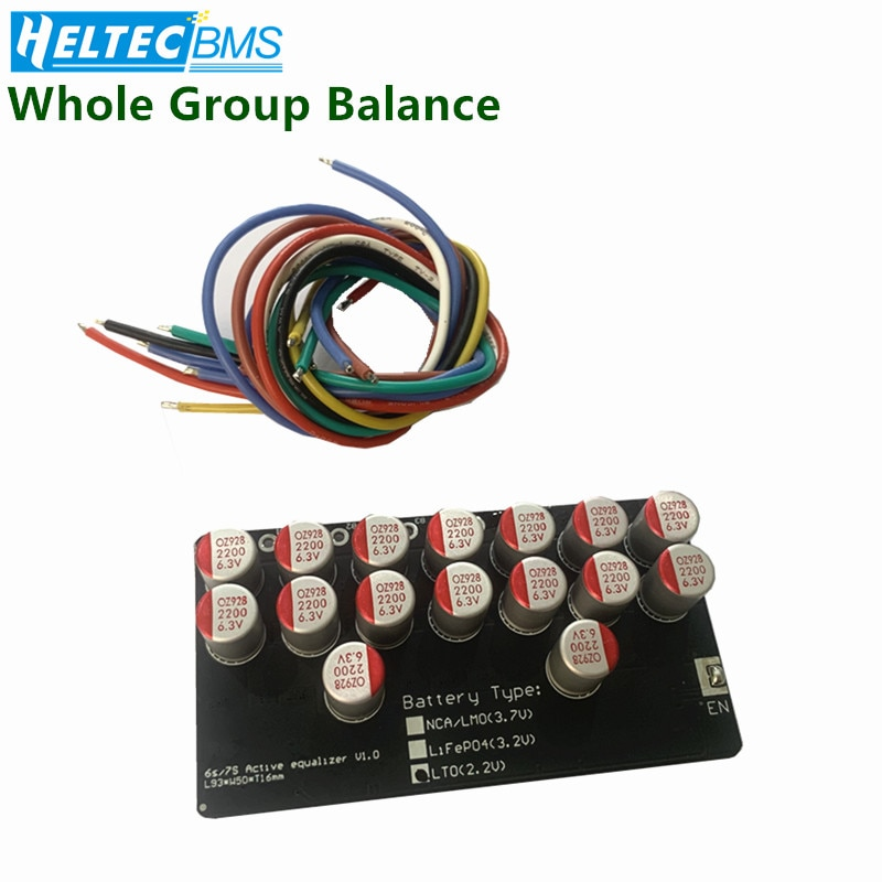 AliExpress - 8S 5A 6A Active Equalizer Balancer  Lifepo4 Lithium Lipo LTO Battery Energy active equalization module Fit Capacitor