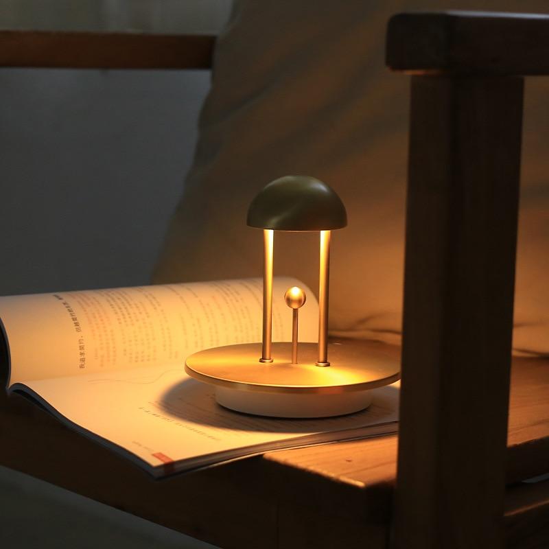 New Led Night Light Touch And Sensor Light Creative Design Atmosphere lamp Learning Desk Light Bedroom Bedside Home Decor Lights enlarge