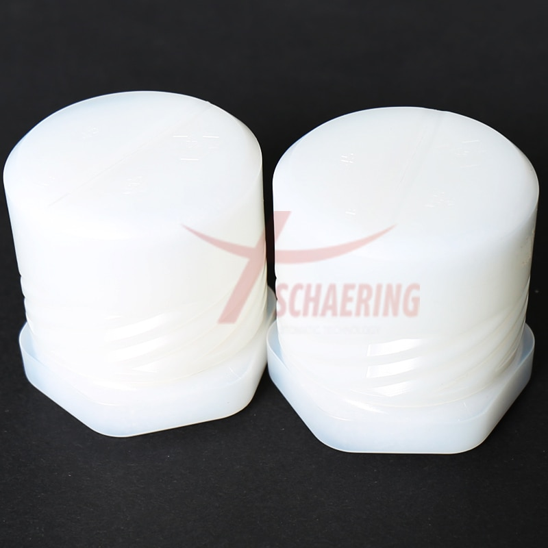 High quality Chinese  price imported yellow ceramic 1755673 Laser Ceramic nozzle holder enlarge