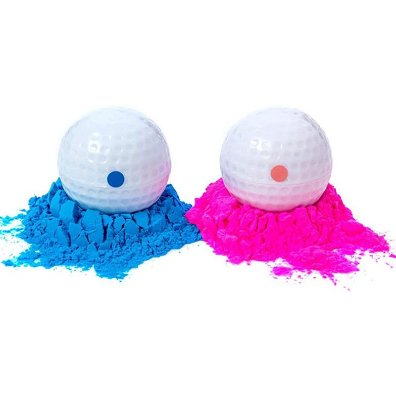 2Pcs Birthday Party Gender Reveal Powder Balls Banquet Smoke Powder Bombs Birthday Party Smog Powder